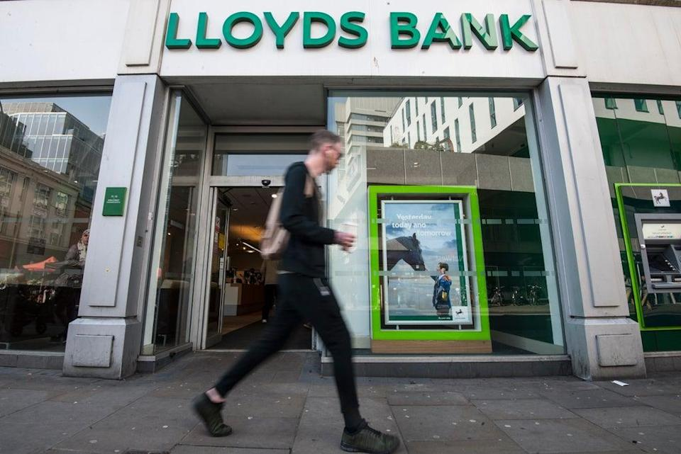 Lloyds runs more than half of the 'last in town' bank branches (Lauren Hurley/PA) (PA Archive)
