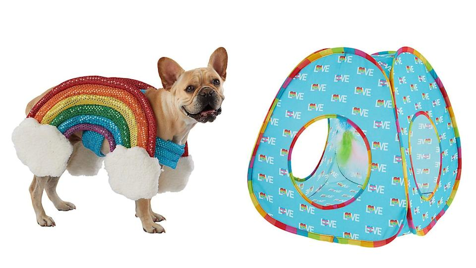 """Petsmart's """"You Are Loved Collection"""" features fashion, accessories, and toys for cats and dogs."""