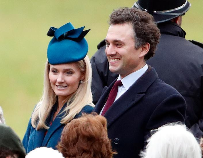 Thomas van Straubenzee to Lucy Lanigan-O'Keeffe married late last month in front of a limited congregation (Getty Images)