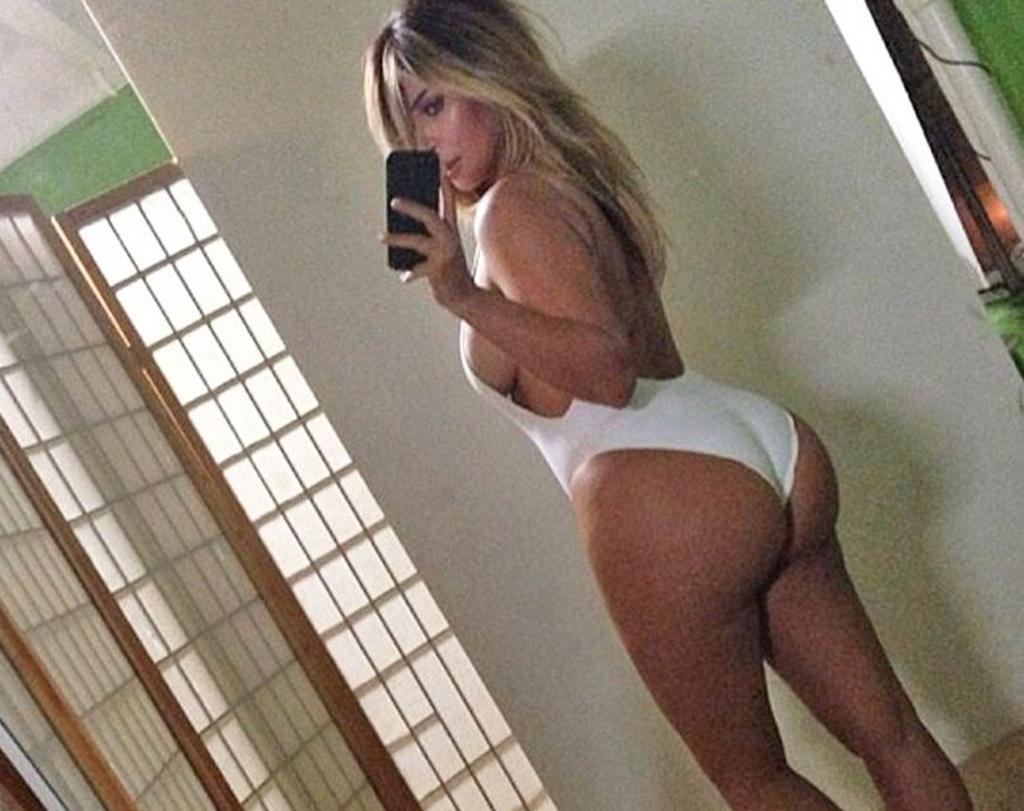 """<p>Yes, Kim Kardashian's butt is big … and just like the song, she's one of those rap guy's girlfriends (or, in this case, wife)! The reality star's <span>derrière</span> has been the stuff of legend — and rumors — for years. She's denied having butt implants but has <a rel=""""nofollow"""" href=""""http://www.usmagazine.com/celebrity-body/news/kim-kardashian-admits-to-butt-injections-but-theres-a-catch-w434644"""">admitted to having butt injections</a> — to treat psoriasis, she says. May her famous bum's legend live on. (Photo: Kim Kardashian via Instagram) </p>"""