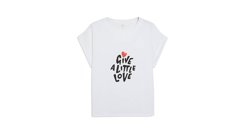 Give a Little Love Cotton Tank T-Shirt