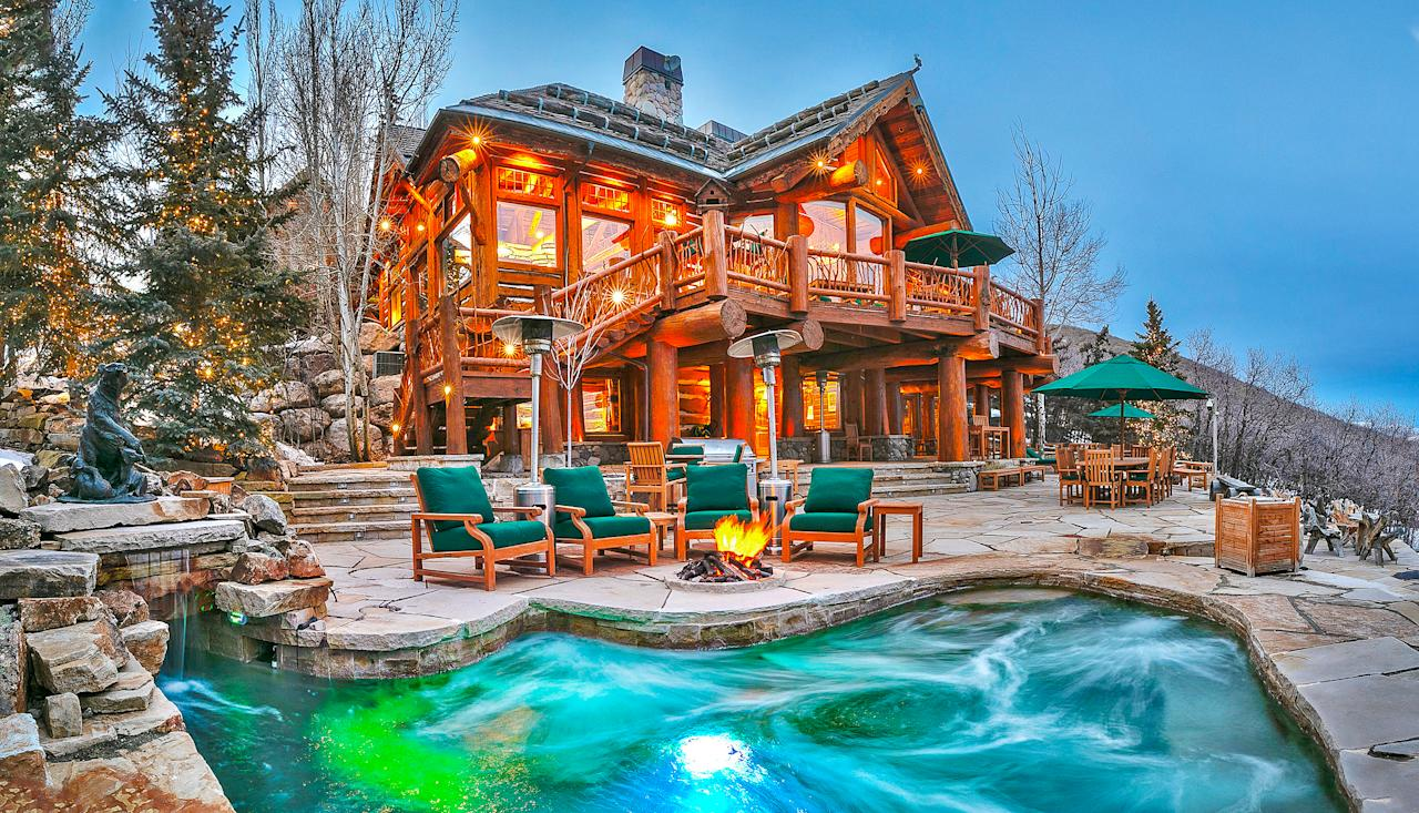 "The former residence of Utah senator Mitt Romney is currently listed for $15 million. (<a href=""https://www.toptenrealestatedeals.com/weekly-ten-best-home-deals/home/mitt-romneys-utah-mountain-ski-home"">Top Ten Real Estate Deals</a>)"