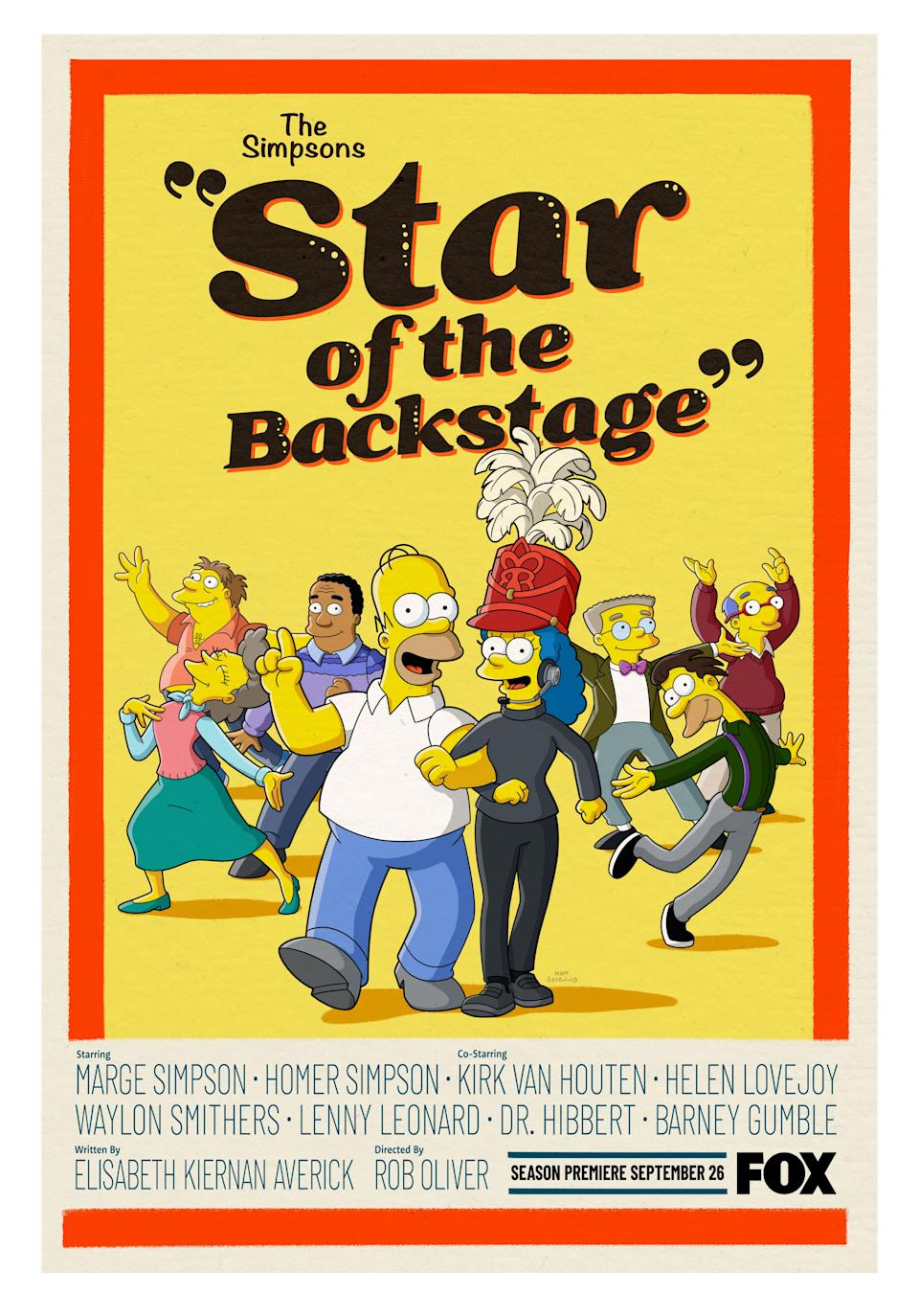 """""""The Simpsons"""" does """"The Music Man"""" - Credit: Fox"""