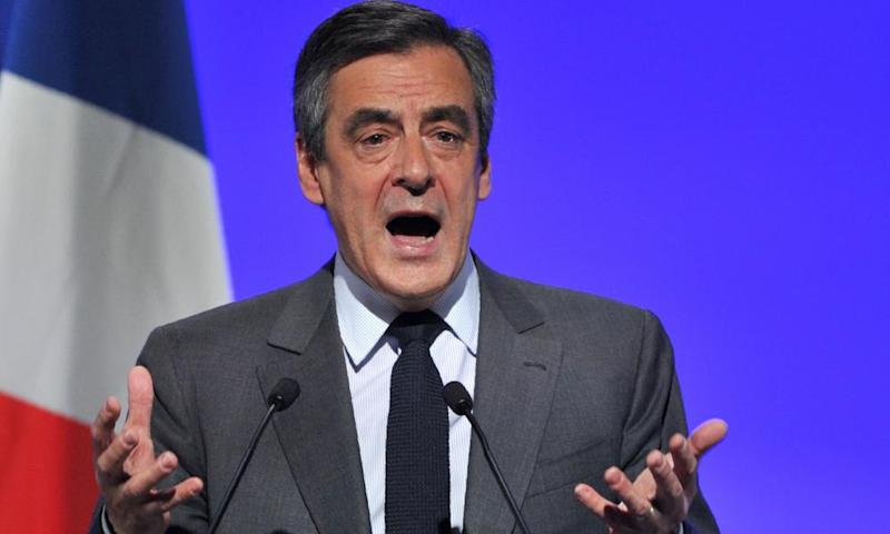 François Fillon, the rightwing French presidential candidate