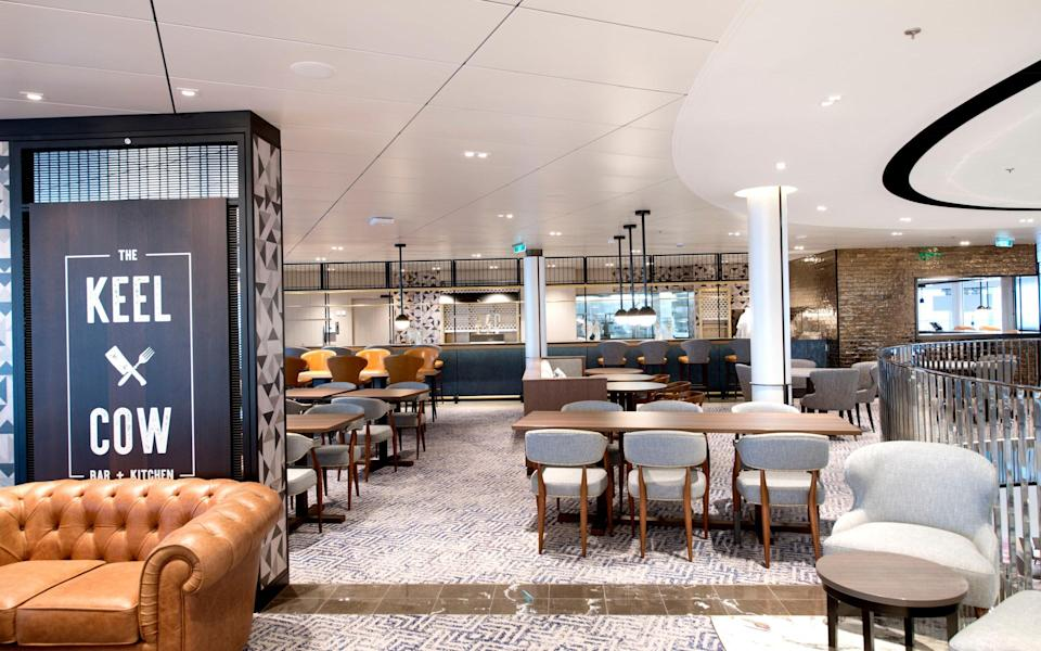 The Keel and Cow gastropub - P&O Cruises