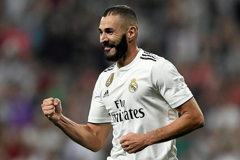 Real Madrid's French forward Karim Benzema was dropped frmo the French squad after the case emerged in 2015 and has not been recalled