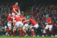 Wales captain Alun Wyn Jones monumental performance against Ireland justifies him being labelled the greatest player to don the Welsh jersey according to former great Jonathan Davies (AFP Photo/GEOFF CADDICK)