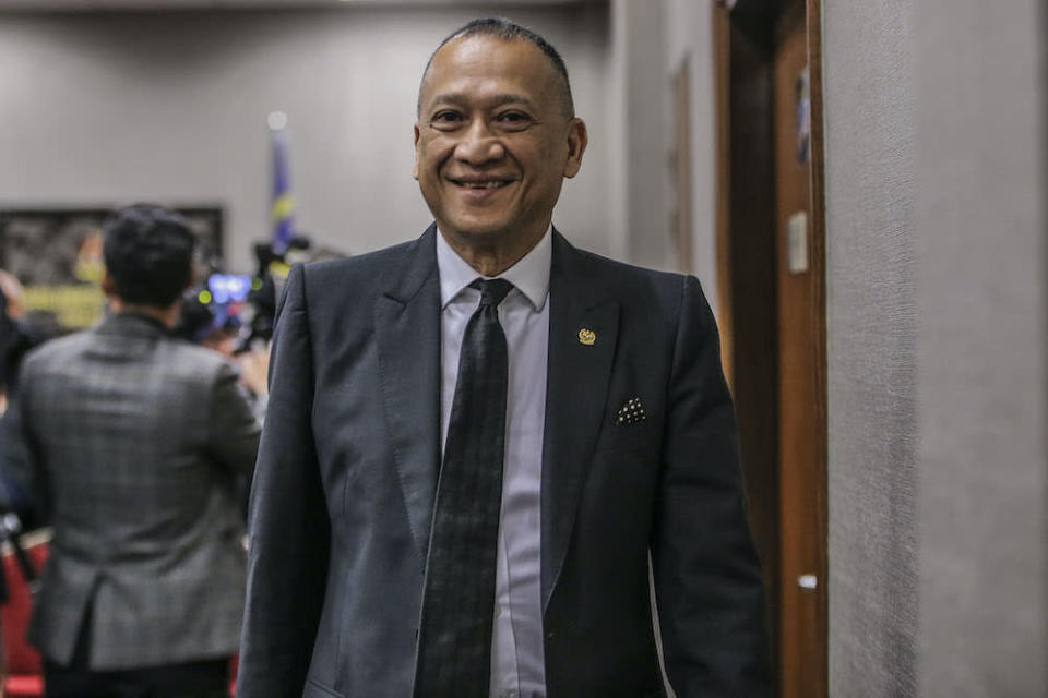 Datuk Seri Mohamed Nazri Abdul Aziz claimed the law introduced by the colonial British government is needed to guarantee unity in Malaysia. — Picture by Hari Anggara