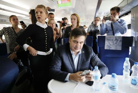 Saakashvili Faces 'Serious' Criminal Charges After Entering Ukraine