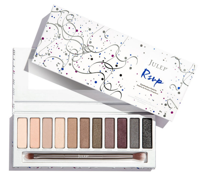 <p>Black Friday on julep.com: every purchase gets a free vanity clutch mirror with an exclusive design. Only on Black Friday.<br>RSVP palette: $19.99 ($54 value), The Eyes Have It: $19.99 ($82 value), 3pc It's Balm (Hey Cupcake, Merry & Bright): $19.99 ($60 value), 4pc Lip Gloss (Under the Mistletoe, Pucker & Pout): $19.99 ($80 value), 5pc When Pencil Met Gel (Fireside Flirt): $19.99 ($80 value), Polish trios starting at $11.99 ($42 value), Polish duos starting at $7.99 ($28 value), Gem Collection: $39.99 ($168 value).</p>