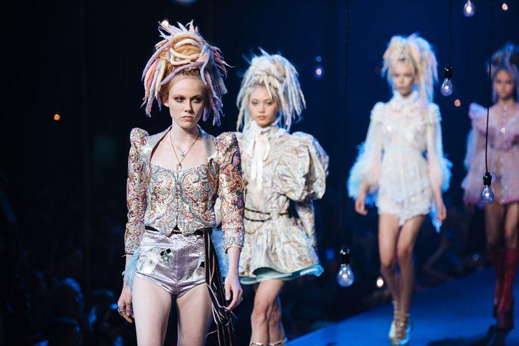Marc Jacobs debuted his Spring 2017 collection at the Hammerstein Ballroom to close out New York Fashion Week. (Photo: The Washington Post via Getty Images)