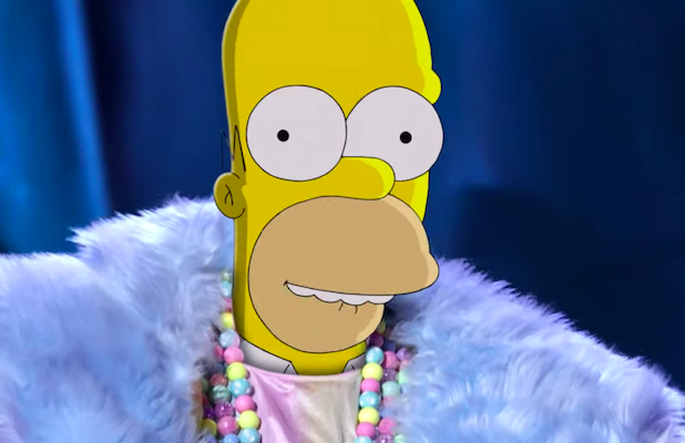 Watch Homer Simpson Cross Over Onto 'The Masked Singer' in New Fox Promo (Exclusive Video)