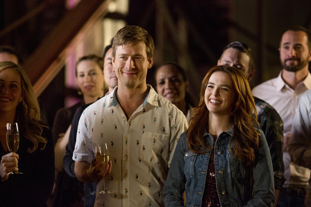 """<p>This new Netflix rom-com tells the story of Harper (Zoey Deutch) and Charlie (Glen Powell), two overworked assistants who work in the same building. Upon meeting, they connect over just how unbearable both of their bosses are, which brings them to the realization that they might not be so bad if they were dating each other. From there, Harper and Charlie concoct a (in Charlie's own words) """"full-on <strong>Parent Trap</strong>"""" plan to get their bosses romantically involved.</p> <p><strong>Where to watch</strong>: <a href=""""http://www.netflix.com/title/80184100"""" target=""""_blank"""" class=""""ga-track"""" data-ga-category=""""Related"""" data-ga-label=""""http://www.netflix.com/title/80184100"""" data-ga-action=""""In-Line Links"""">Netflix</a></p>"""