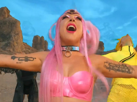 """Lady Gaga's music video for new song """"Stupid Love"""" was shot on an iPhone: Vevo"""