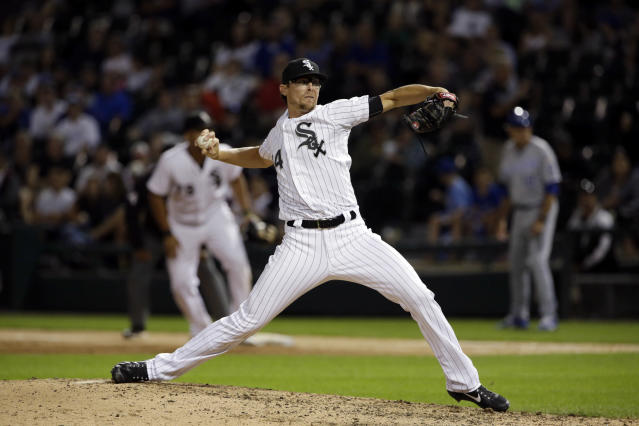 Tyler Clippard is changing teams yet again in 2017. (AP Photo/Nam Y. Huh)