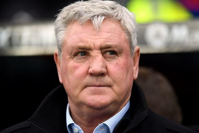 Newcastle United manager Steve Bruce has said the club have stopped their players from shaking hands (Kirsty O'Connor/PA)