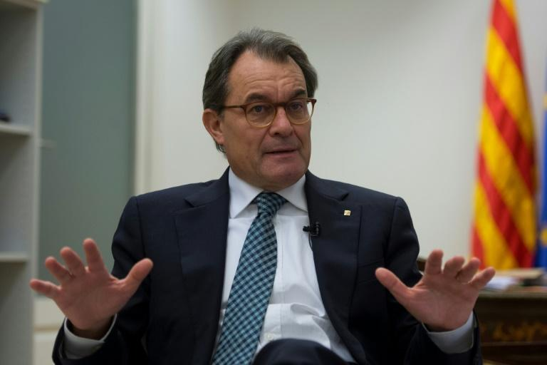 Former Catalan president Artur Mas was convicted of civil disobedience for organising the symbolic, non-binding poll in Catalonia in defiance of a a ban by Spain's Constitutional Court