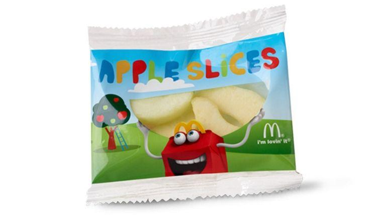 """<p>Full of crunch and natural sweetness, apple slices are probably the cleanest order you can put in at Mickey D's. </p><p>""""These apple slices are a perfect snack,"""" says Taub-Dix. """"They're a no-brainer choice for kids or adults.""""</p><p><em>Per serving: 15 calories, 0 g fat (0 g sat fat), 0 mg sodium, 4 g carbs, 0 g fiber, 3 g sugar, 0 g protein</em></p>"""