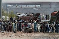 Rioting has rocked Pakistan since Monday
