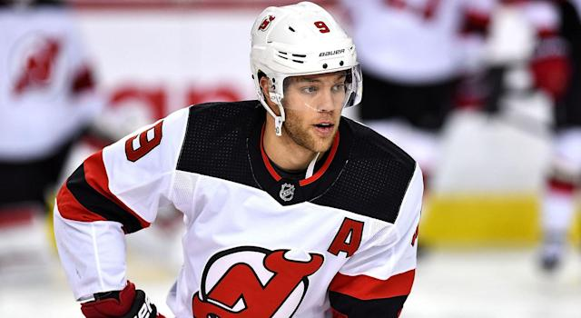 Taylor Hall is a good buy-low option in fantasy hockey. (Getty Images)