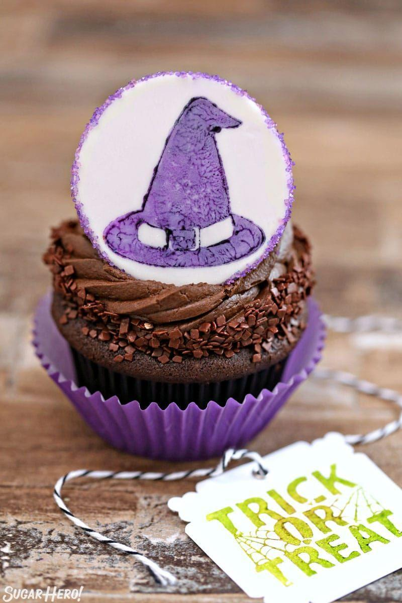 """<p>You can completely customize this tutorial by using a variety of Halloween-themed stamps. A few design ideas this blogger offers are cats, skulls, and pumpkins. </p><p><strong>Get the recipe at <a href=""""https://www.sugarhero.com/stamped-halloween-cupcakes/"""" rel=""""nofollow noopener"""" target=""""_blank"""" data-ylk=""""slk:SugarHero!"""" class=""""link rapid-noclick-resp"""">SugarHero!</a></strong></p><p><strong><a class=""""link rapid-noclick-resp"""" href=""""https://www.amazon.com/Hero-Arts-LL440-Woodblock-Halloween/dp/B002W4XQSA/?tag=syn-yahoo-20&ascsubtag=%5Bartid%7C10050.g.1366%5Bsrc%7Cyahoo-us"""" rel=""""nofollow noopener"""" target=""""_blank"""" data-ylk=""""slk:SHOP HALLOWEEN STAMPS"""">SHOP HALLOWEEN STAMPS</a><br></strong></p>"""