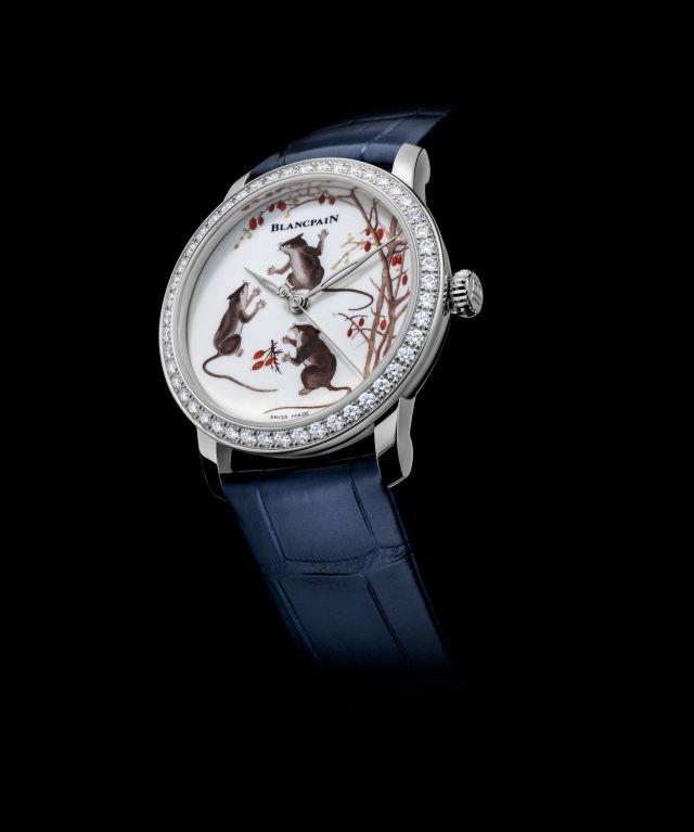 Blancpain celebrates the year of the rat with its first ever porcelain dial