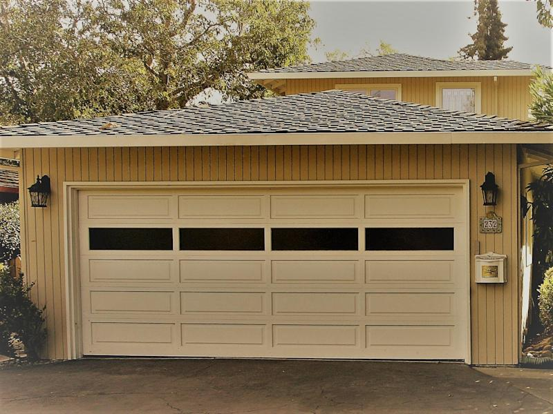 The garage in Menlo Park, California, where Larry Page and Sergey Brin set up Google in 1998: Getty Images