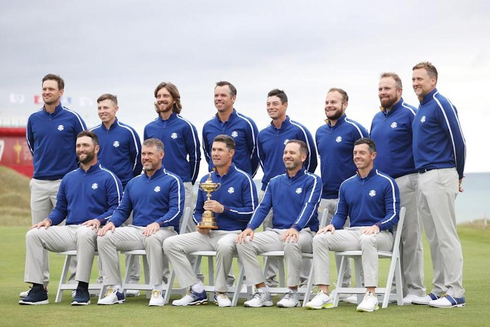 Team Europe for the 2021 Ryder Cup at Whistling Straits, Wisconsin (Getty Images)