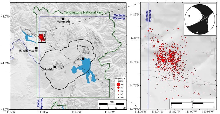 Yellowstone Supervolcano Earthquake Swarm Reaches 878 Events in Just Two Weeks