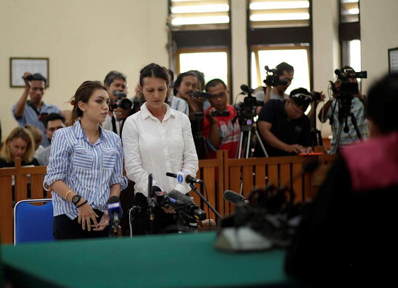 Couple Found Guilty In Bali Policeman Killing
