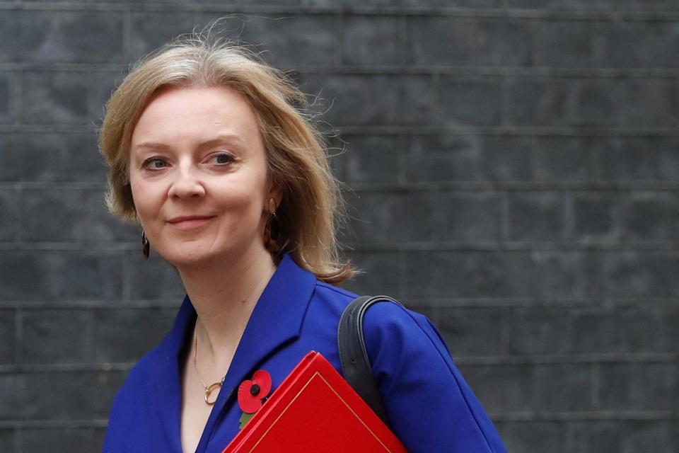 Ms Truss was grilled over the Conservative government's housing strategy: Reuters