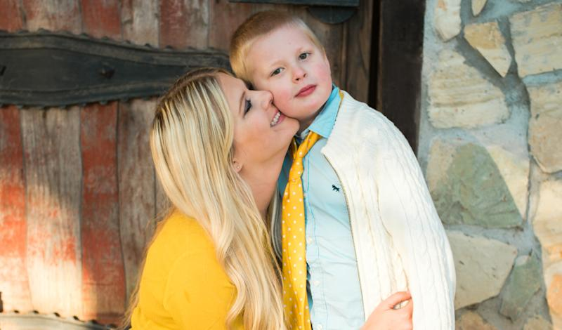 """Kate Swenson's 7-year-old son, Cooper, has autism and is nonverbal.Her """"number one piece of advice"""" for parents navigating the holidays with kids with autism is to speak up and be honest."""