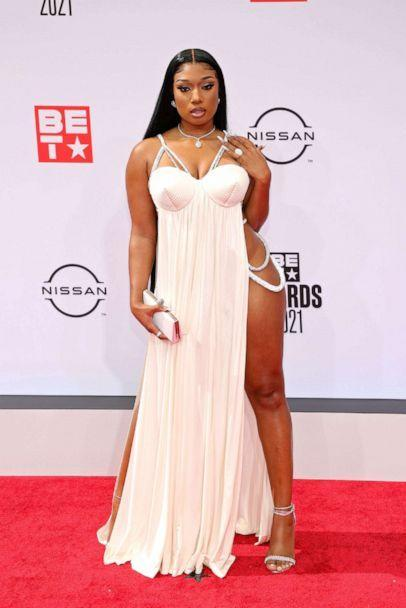 PHOTO: Megan Thee Stallion attends the BET Awards 2021 at Microsoft Theater on June 27, 2021 in Los Angeles. (Rich Fury/Getty Images)