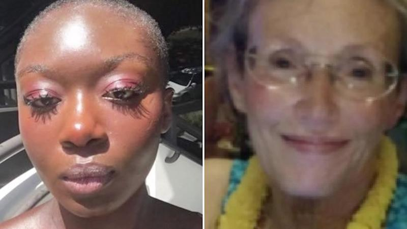Oluwatoyin Salau, left, and Victoria Sims were found murdered in Tallahassee, Florida. Source: WTXL