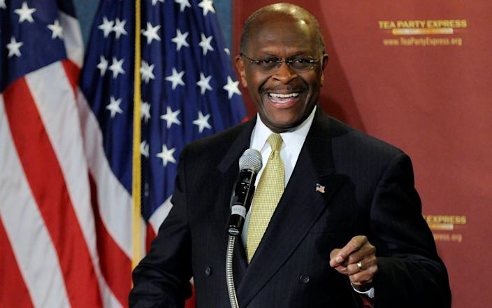 Herman Cain was a 2012 Republican presidential candidate