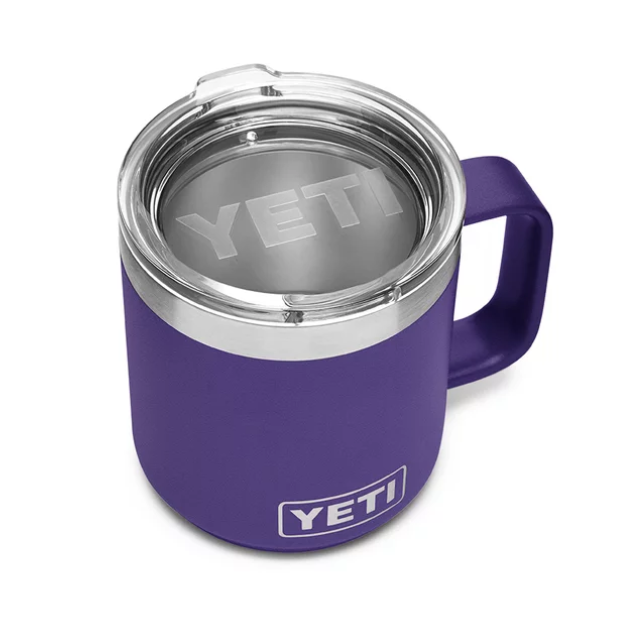 """<p><strong>YETI</strong></p><p>amazon.com</p><p><strong>24.98</strong></p><p><a href=""""https://www.amazon.com/dp/B074W9QLNX?tag=syn-yahoo-20&ascsubtag=%5Bartid%7C10055.g.29499968%5Bsrc%7Cyahoo-us"""" rel=""""nofollow noopener"""" target=""""_blank"""" data-ylk=""""slk:Shop Now"""" class=""""link rapid-noclick-resp"""">Shop Now</a></p><p>Yeti's stylish, stackable 14 oz. mug comes in tons of colors (just look at that purple!) and keeps your coffee piping hot until you're ready for that first soul-warming sip.</p><p><strong>RELATED:</strong> <a href=""""https://www.goodhousekeeping.com/holidays/gift-ideas/g29250426/gifts-for-coffee-lovers/"""" rel=""""nofollow noopener"""" target=""""_blank"""" data-ylk=""""slk:32 Gifts Coffee Lovers Will Love a Latte"""" class=""""link rapid-noclick-resp"""">32 Gifts Coffee Lovers Will Love a Latte</a></p>"""