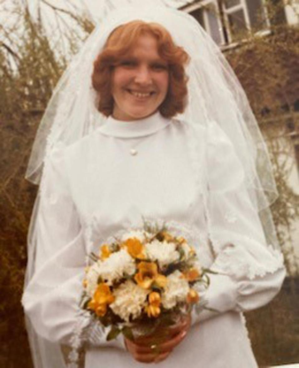 Sue tied the knot to her first husband in 1976. (Collect/PA Real Life)