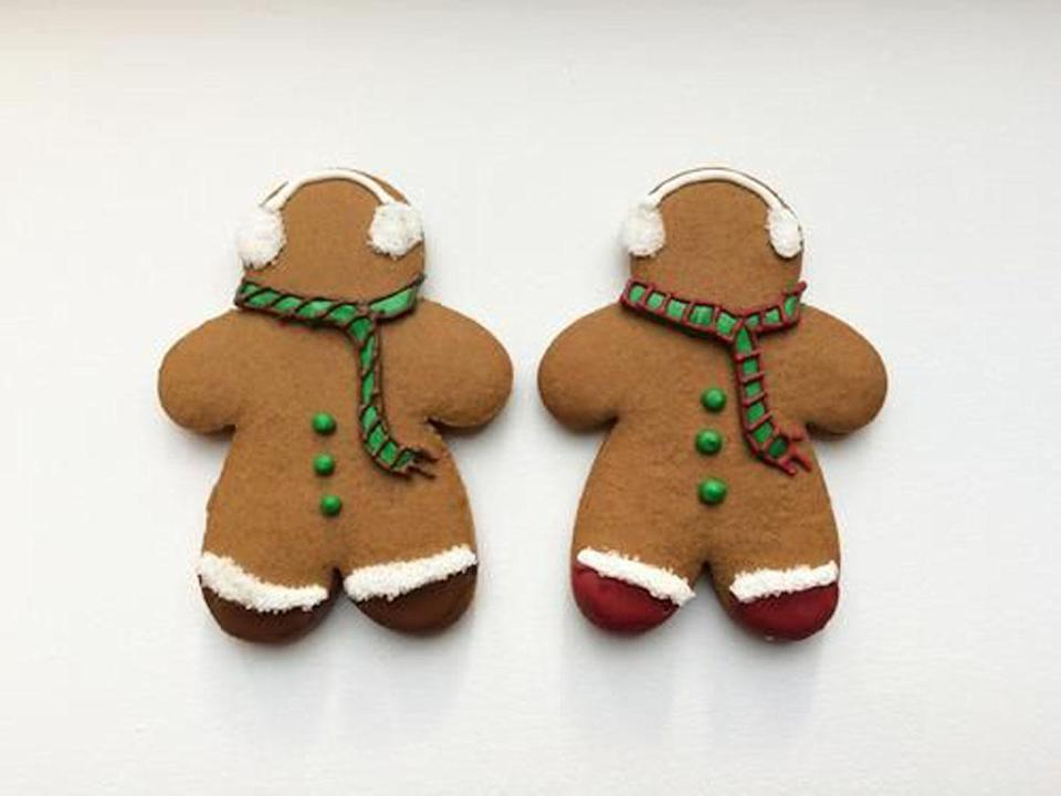 """<p>The legendary Bouchon Bakery shares its perfect gingerbread cookie recipe. Once the baking is done, mix up your royal icing and decide what colors you want and get creative with some festive characters. <a href=""""https://www.yahoo.com/food/the-perfect-gingerbread-cookie-recipe-from-105893347706.html"""" data-ylk=""""slk:Bouchon Bakery's Gingerbread Cookie recipe;outcm:mb_qualified_link;_E:mb_qualified_link;ct:story;"""" class=""""link rapid-noclick-resp yahoo-link""""><b>Bouchon Bakery's Gingerbread Cookie recipe</b></a>. <i>(Photo: Donna Yen)</i><br></p>"""