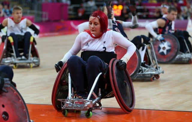 Kylie Grimes helped Great Britain to a fifth-placed finish at London 2012