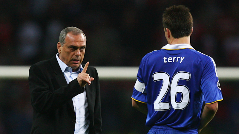 Avram Grant reveals what he told Terry after Chelsea captain's missed penalty in 2008 Champions League final