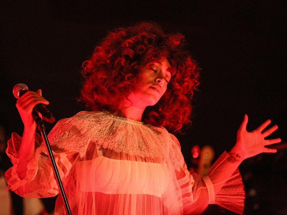 Part of a cultural movement: Solange performs in 2017 (Rich Fury/Getty Images)