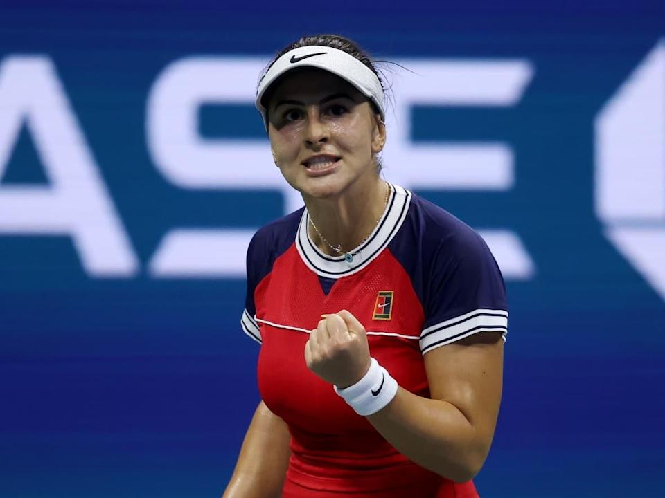 Bianca Andreescu, shown in this file photo at the U.S. Open, defeated American Alison Riske 7-6 (2), 5-7, 6-2 in the second round of the BNP Paribas Open on Saturday in Indian Wells, Cali. (Matthew Stockman/Getty Images - image credit)
