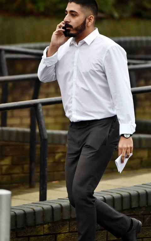 Harris Imran, who appeared at Teesside Magistrates' Court accused of common assault - Credit: Ian Cooper/Evening Gazette