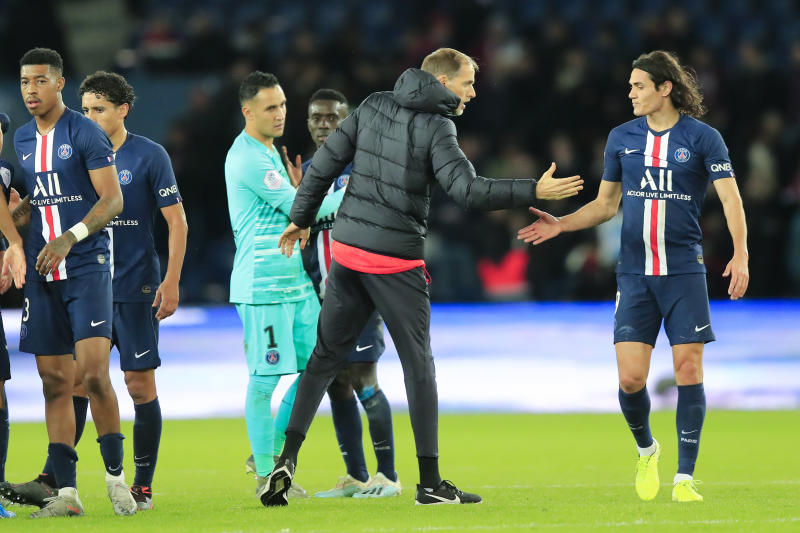 PSG marksman Cavani playing patient game again after injury