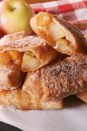 """<p>These are almost like mini apple pies, but better.</p><p>Get the recipe from <a href=""""https://www.delish.com/cooking/recipe-ideas/a22877442/caramel-apple-egg-rolls-recipe/"""" rel=""""nofollow noopener"""" target=""""_blank"""" data-ylk=""""slk:Delish"""" class=""""link rapid-noclick-resp"""">Delish</a>.</p>"""
