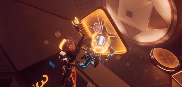 'Echo Arena' is a VR game that makes movement feel super smooth.