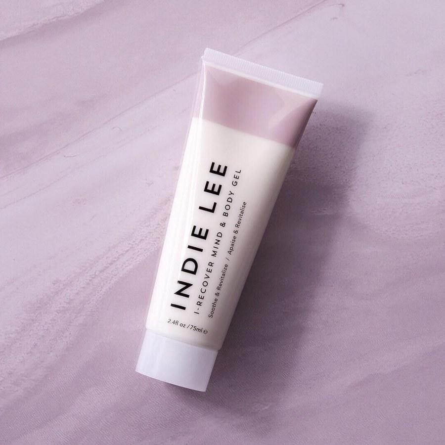 """<p>""""This clean, <a href=""""https://www.indielee.com/shop/products/i-recover-mind-body-gel"""" rel=""""nofollow"""">therapeutic hand and body lotion</a> was created by and for people with rheumatoid arthritis, which my mother has, so giving her this alongside the brand's matching bath soak is a no-brainer. Its arnica, black pepper, lavender, and patchouli soothe stiff muscles, making it an excellent pick for athletes, too.""""</p> <p><em>~ Nicola Dall'Asen, staff writer</em></p>"""