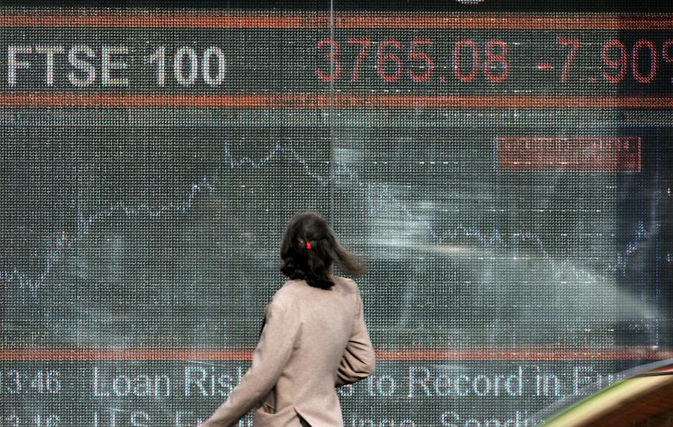 2020 was officially the worst year for FTSE 100 share index since financial crisis. Photo: Lionel Healing/Getty Images