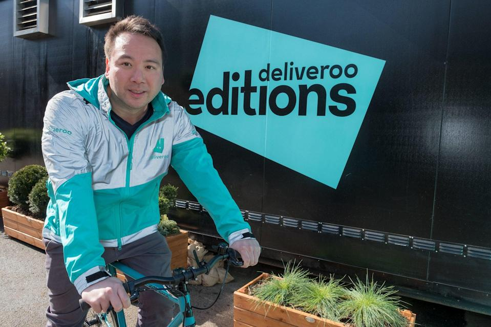Deliveroo co-founder Will Shu  (Deliveroo)