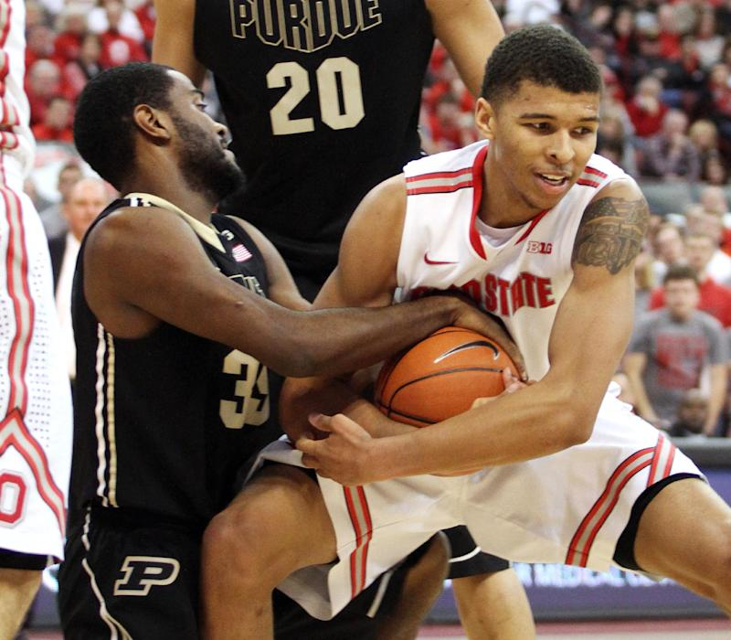 Ross' 17, Smith's 16 lead OSU past Purdue, 67-49